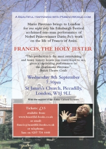 Francis the Holy Jester St. Jamess Church