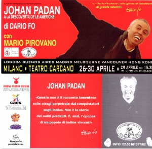 Johan Padan al Teatro Carcano
