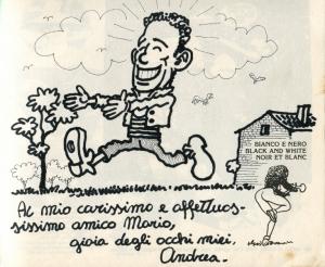 il disegno di Andrea Pazienza 1985