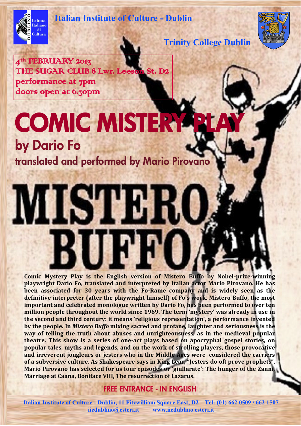 Comic Mistery Play