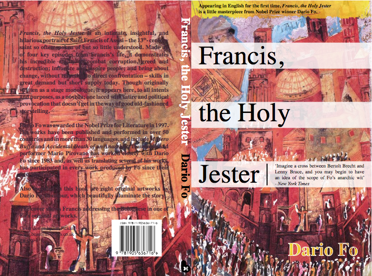 cover book, Francis the Holy Jester