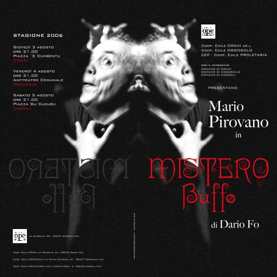 Mistero Buffo, Pirovano in Sardegna