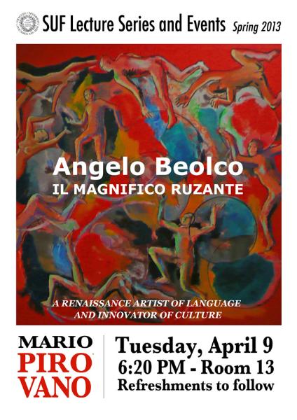 Angelo Beolco, Magnificent Ruzante