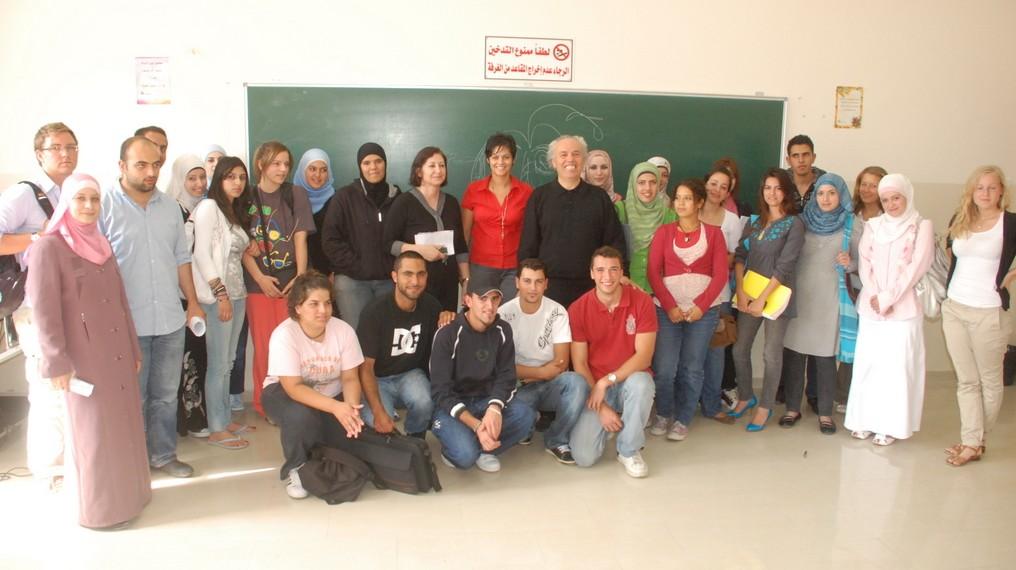 workshop, Birzeit University (Palestina), 2010