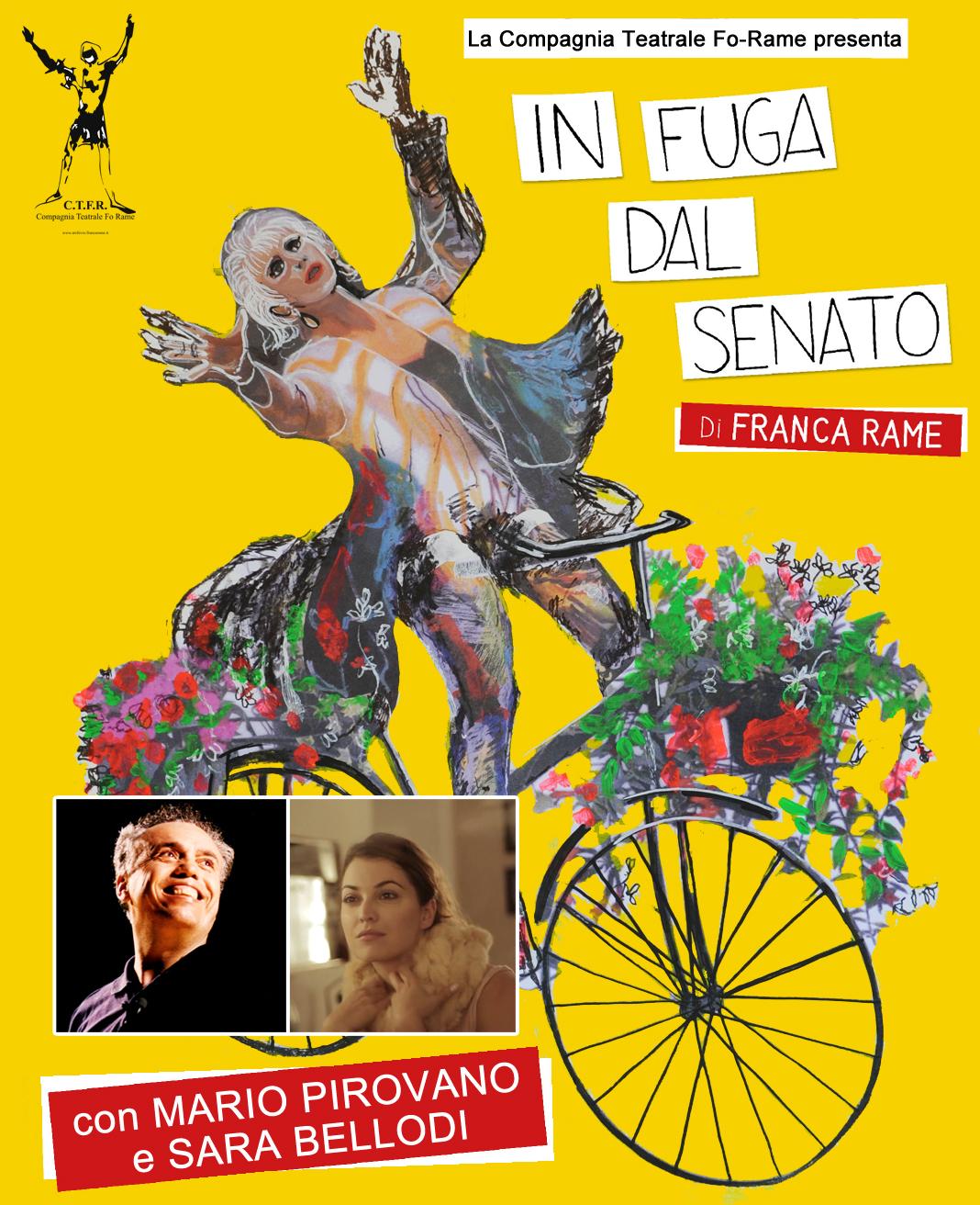 Mario Pirovano In Fuga dal Senato Dario Fo Franca Rame